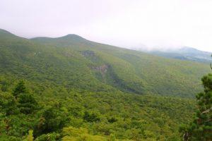 日本百名山安達太良山:ガスの中で智恵子の本当の空見えず