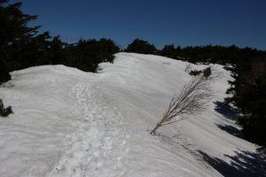 天空の雪の回廊
