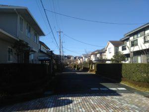 豊郷台の町並み