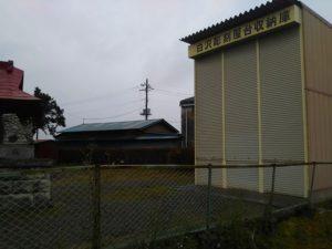 白沢甲部彫刻屋台の倉庫