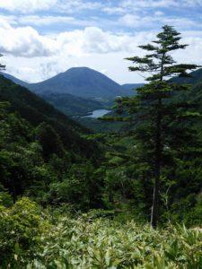 栃木百名山第34座温泉が岳:金精峠から