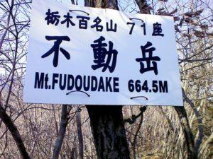 栃木百名山第85座不動岳:倒木の間を縫って