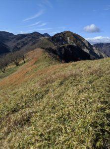 栃木百名山に漏れた山:絶景の中倉山
