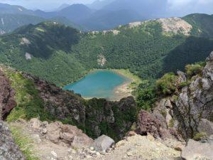 栃木百名山:夏の花咲く白根山