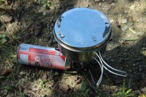 栃木百名山:山ご飯調理のスタートは羽黒山で