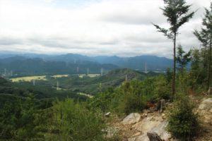 栃木百名山:中倉尾根から古賀志山下見