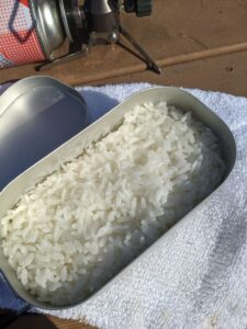 山ご飯④:冬のメスティン炊飯のコツ
