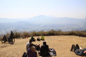栃木百名山:高峯で山ご飯
