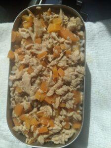 山ご飯⑭:シーチキンの炊き込みご飯